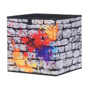 Úložný box Alfa, motiv graffiti