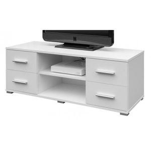 TV stolek Oskar TV, bílý, 120 cm