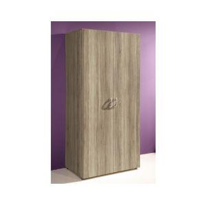 Šatní skříň Base 2, dub sonoma
