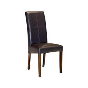 Židle, nohy: buk wenge, š/v/h: cca. 49x105x48 cm