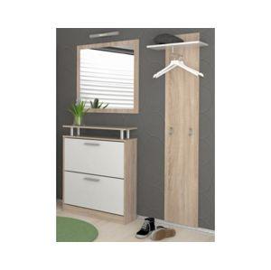 Predsín - panel, botník, zrcadlo š/v/h: 130x190x25 cm