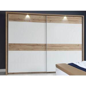Šatní skrín, 2 posuvné dvere š/v/h: 269,9x209,7x61,2