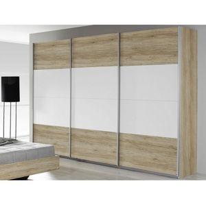 Šatní skrín s posuvnými dvermi š/v/h: 271/210/62 cm
