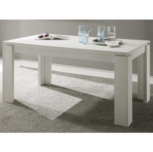 Jídelní stůl Universal 160x90 cm, bělená pinie