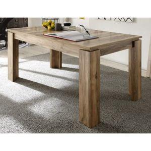 Jídelní stůl Universal 160x90 cm, saténový ořech